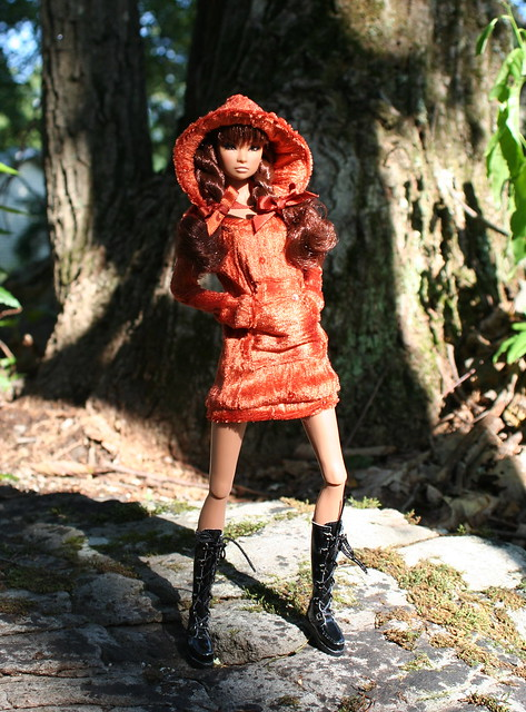 Erin Models A New Hoodie Dress
