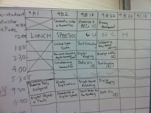 low tech scheduling