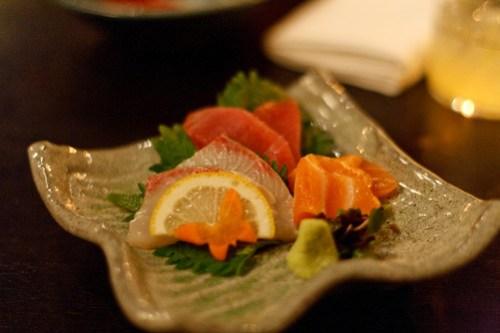 EN - Six Piece Sashimi Selection