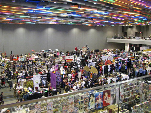 Ohayocon 2011 vendor room