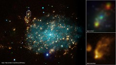 Black Hole Blows Big Bubble (NASA, Chandra, 07...