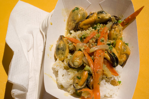Xinh's curried mussels