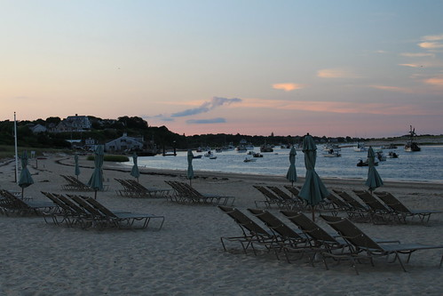 Cape Cod - Chatham Bars Inn - Chairs at Dusk