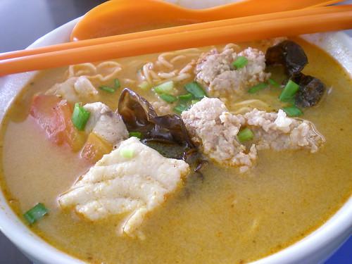 Kong Ma Ma tom yam noodles