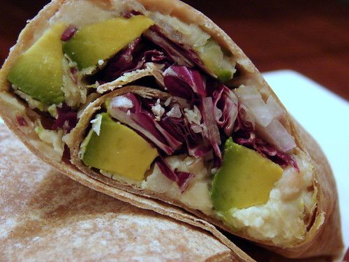 White Bean & Avocado Wraps