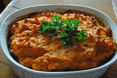 Sweet Potato Topped Shepherd's Pie