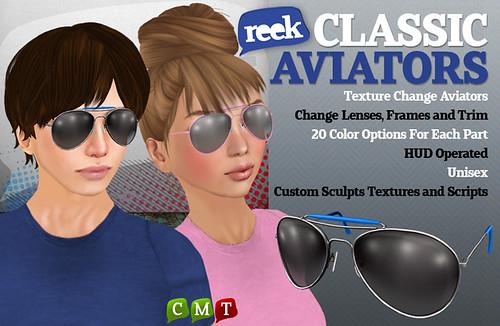 Reek - Classic Aviators Ad