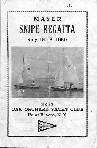Snipe Regatta Program1