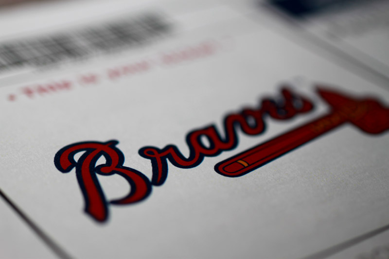 Braves Ticket