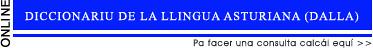banner diccionariu de la academia de la llingua asturiana