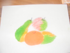 Art day with the Puddle Chicks 009