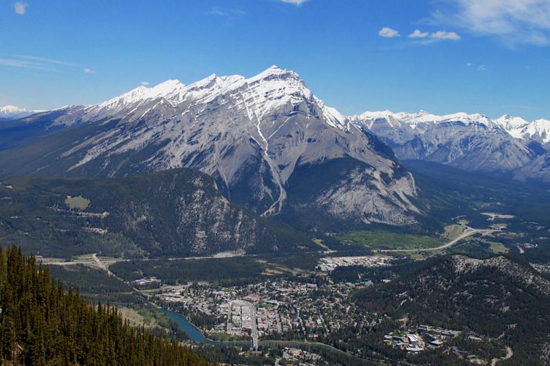 Sulphur Mountain View