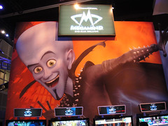 E3 2010 Megamind demo area