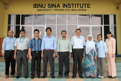 Member of Catalytic Science and Technology (CST) Research Group with Prof. Kazunari Domen of Tokyo University.  Prof. Domen also pays a courtesy visit to Prof. Marzuki Khalid, UTM Deputy Vice Chancellor (Research and Innovation) on July 13, 2010.