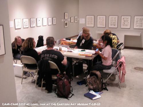 Cam-Jam 2010 #2 July 18 at the Cartoon Art Museum