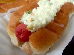 brandi's hot dogs - slaw dog