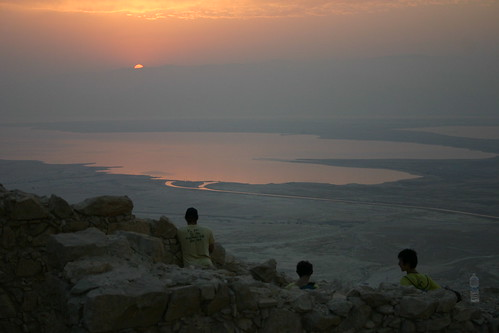 Sunrise over the Dead Sea