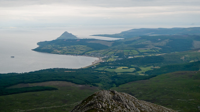 View towards Brodick Bay