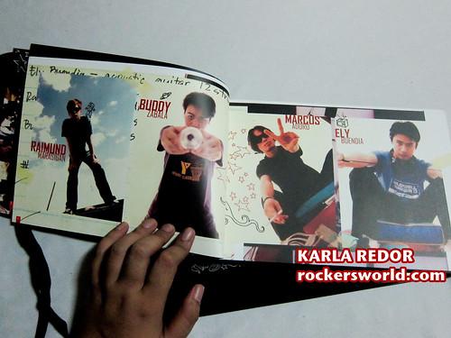Eraserheads Box Set Photos: Photos of the Band in the book