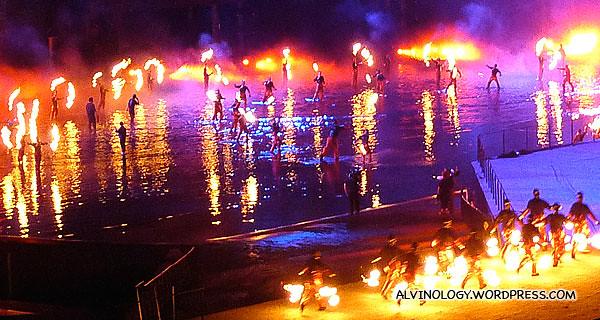 Fire performances