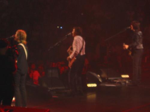 Paul and guitar band mates