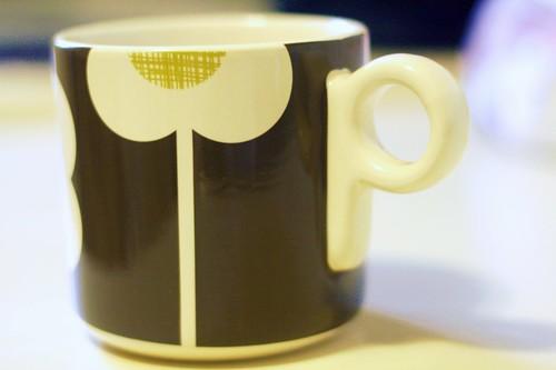 the brown orla mug I forgot about