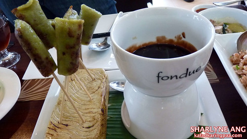 Suman Fondue in Crisostomo