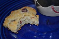 cranberry orange scones, mmm good