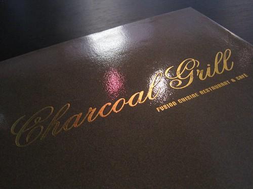 Charcoal Grill - menu 1