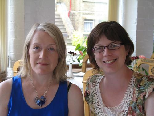 Katherine Langrish and Joanna Kenrick