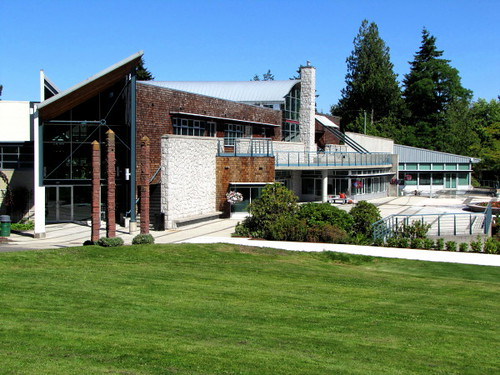 South Terrace and Garden, Shadbolt Centre for the Arts in Burnaby BC