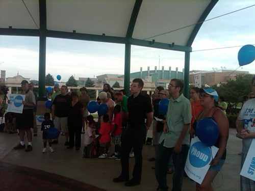 Pro-equality rally in Sioux City