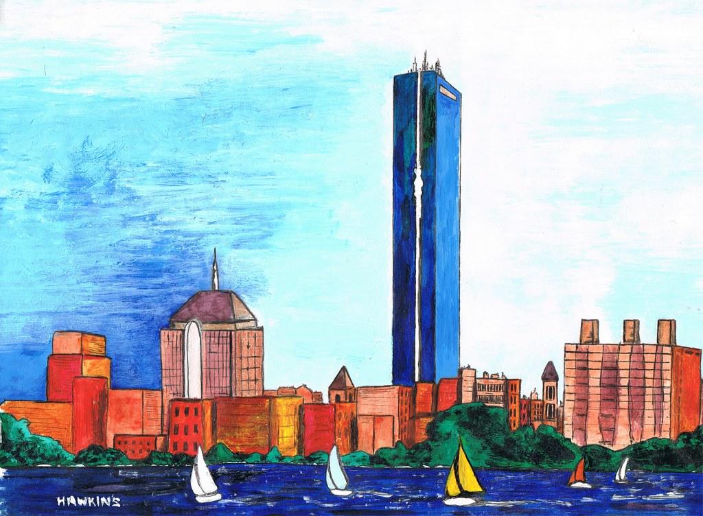 Boston, Massachusetts, by Hawkins