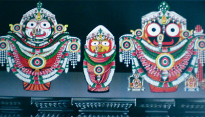 Badasinghra Besha, Costume Of Lord Jagannath