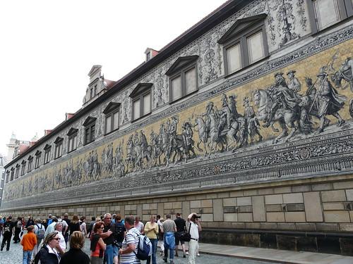 Fürstenzug, Procesión de los Príncipes