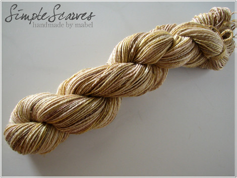 SS Handspun - Shades of Amber