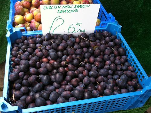 damson fruit should be shown