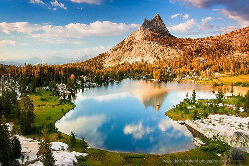The Death Hike, Cathedral Peak, Yosemite -- Granite Reflections by david.richter