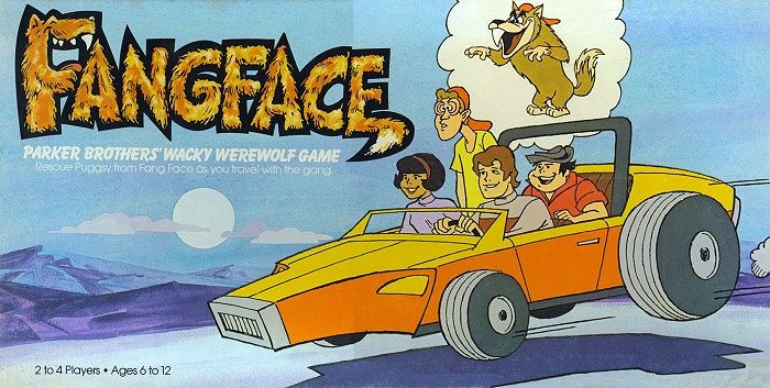 Fangface board game