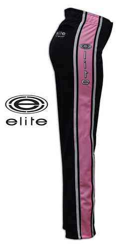 February 2011 Elite Store black pants pink panel