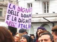 La dignità delle donne è la dignità dell'Italia
