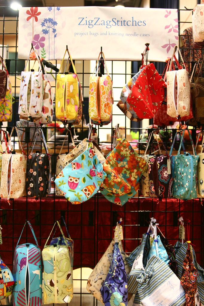 ZigZag bags at the Frolic.