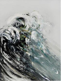 Maggi Hambling Rising Wave