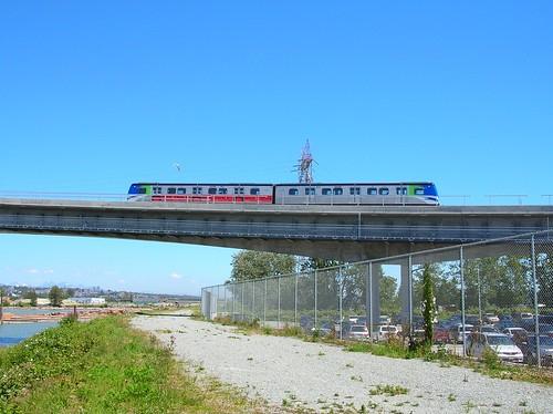Canada Line Bridge over the Richmond dyke