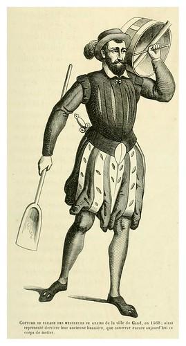 006-Vestimenta  de los medidores de grano de la ciudad de Gand en 1568-Le moyen äge et la renaissance…Vol III-1848- Paul Lacroix y Ferdinand Séré