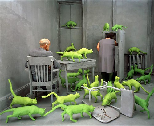 Radioactive Cats by Sandy Skoglund