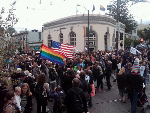 Prop 8 overturned: Celebration rally in San Francisco (August 4, 2010)
