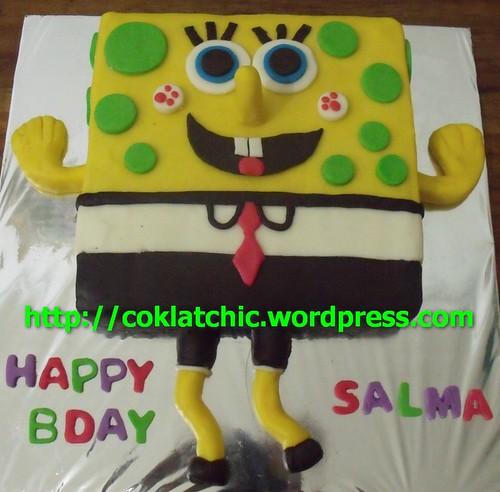 Cake Mini Cake Spongebob And Friends Salma Coklatchic Cake