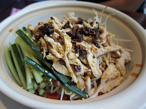 Cold Sichuan Noodles with Chicken
