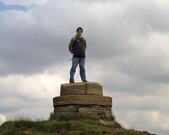 Man on Pedestal